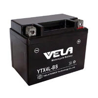 YTX4L 12 VOLT 3AH motorbike Battery for Motorcycles and Quad bikes