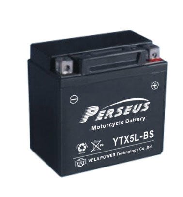 Sealed MF rechargeable motorcycle battery YTX5L-BS