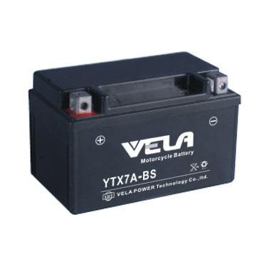 Top Quality sealed MF battery 12v 7ah motorcycle battery Wholesale-VELA