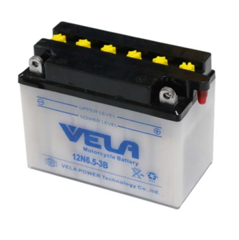 12N6.5-3B 12V 6.5Ah dry battery for motorcycle