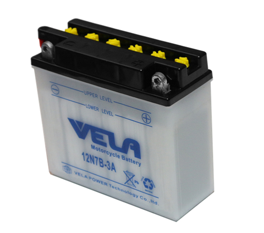 12N7B-3A 12V 7Ah motorcycle battery replacement