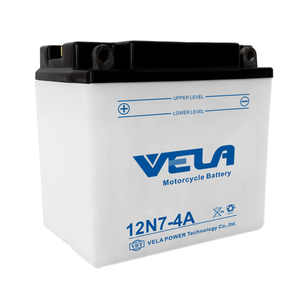12N7-4A 12V 7Ah conventional dry charged battery