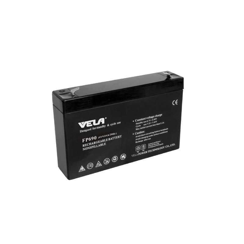 FP690 6V 9Ah Small UPS Battery Backup