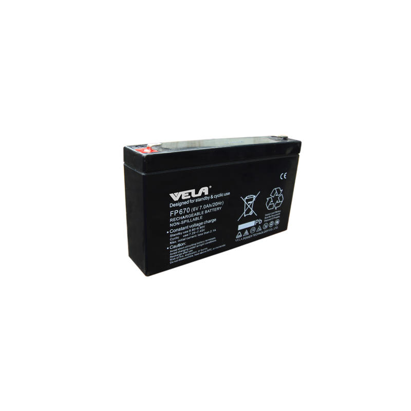FP670 6V 7Ah Golf Cart AGM Battery