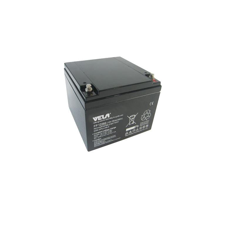 FP12260 12V 26Ah UPS Battery Factory VELA