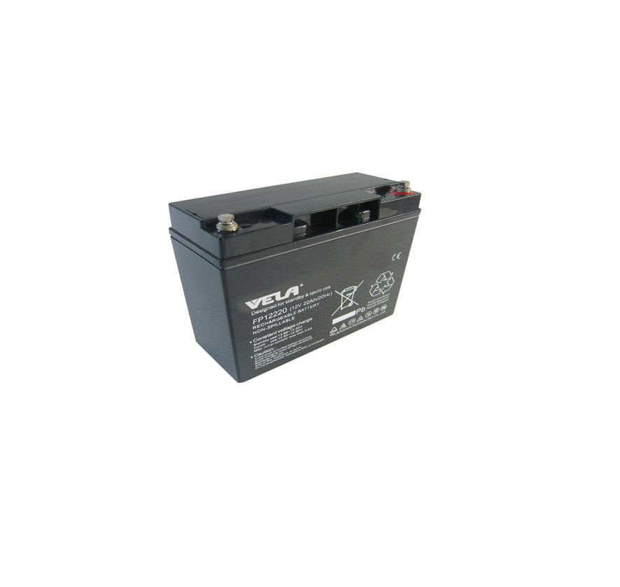 FP12220 12V 22Ah Storage Battery with AGM Separators