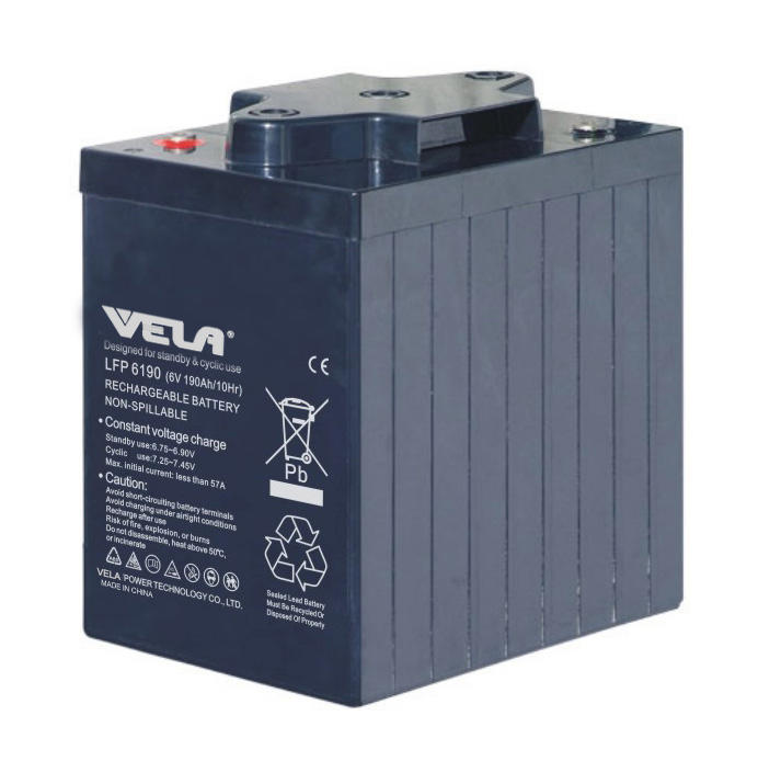LFP6190 6V 190Ah UPS Battery with High Performance