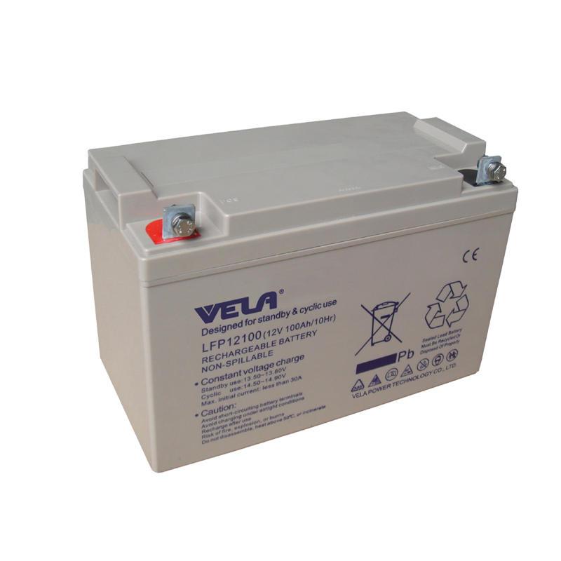 LFPG12100 12V 100Ah Deep Cycle GEL Battery