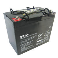 LFP1250 12V 50Ah  Valve Regulated Rechargeable Battery