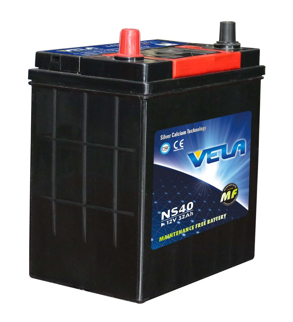 NS40 MF12V32AH Car Battery with Energy