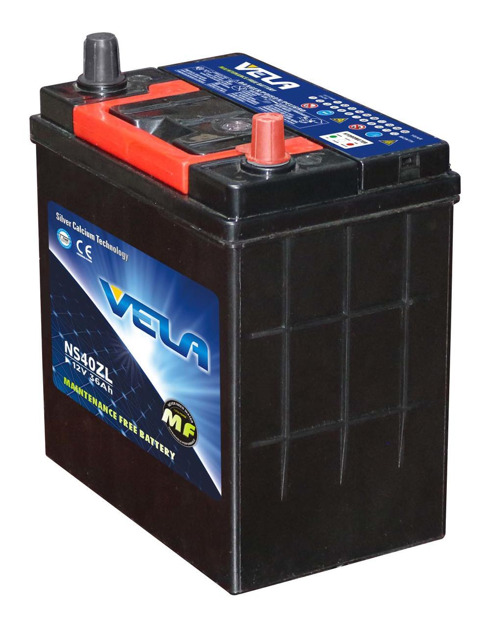 NS40ZL 12V36AH MF Car Battery With Power