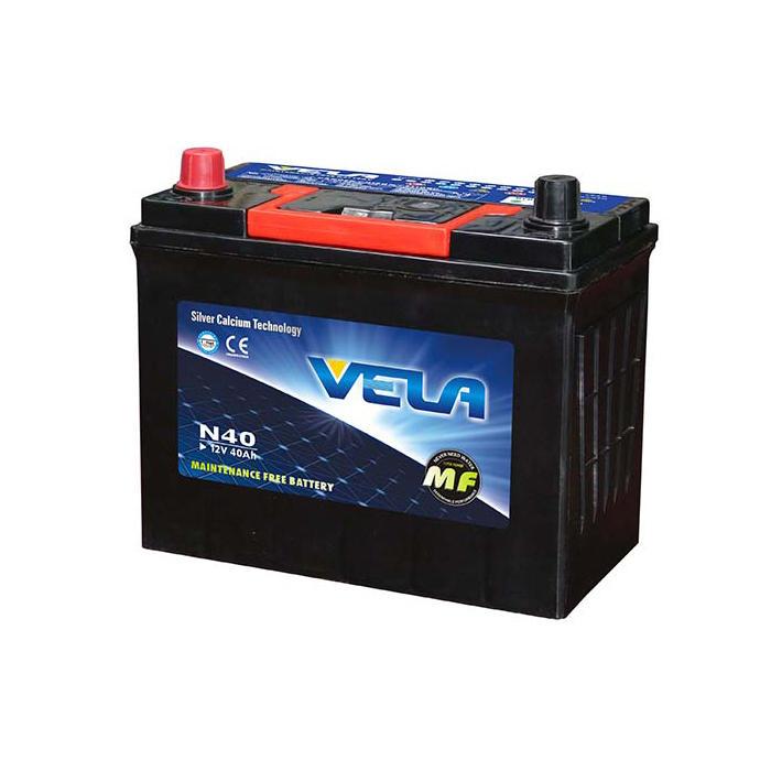 N40 12V40Ah MF Car Battery Strict
