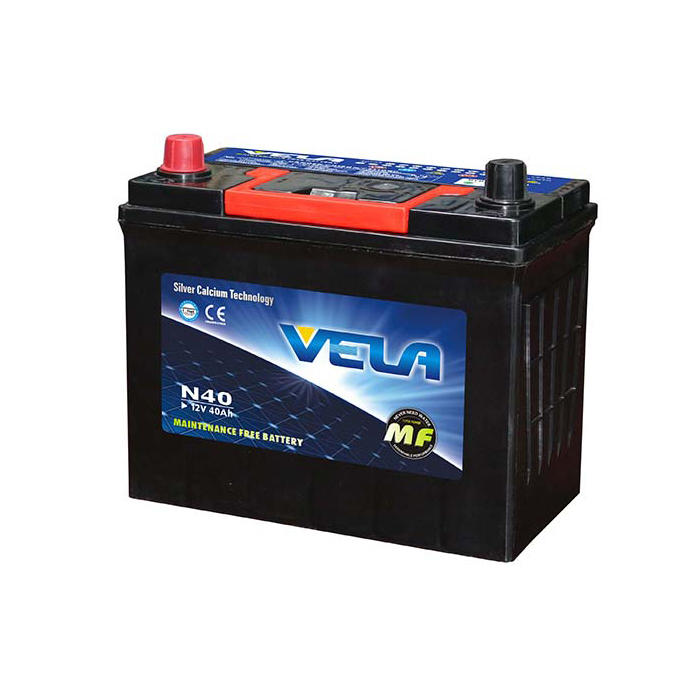 N40 12V40Ah MF Car Battery Strict