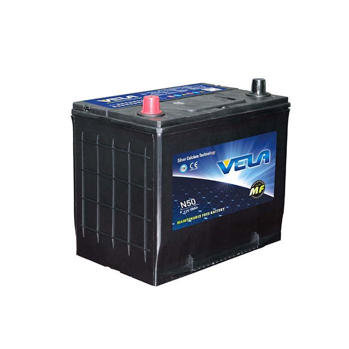 N50 12V50Ah MF Car Battery