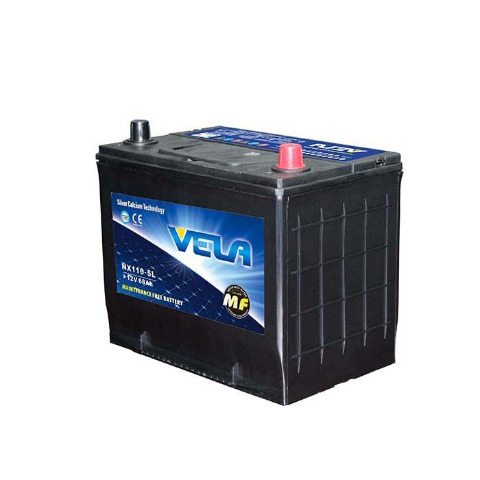 NX110-5L 12V80AH MF Car Battery Manufacturer
