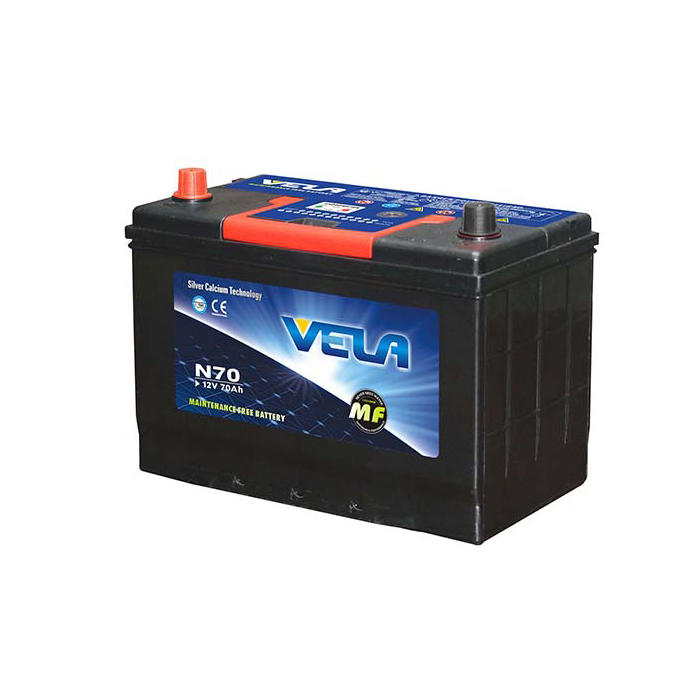 N70 12V70AH MF  Car Battery Factory