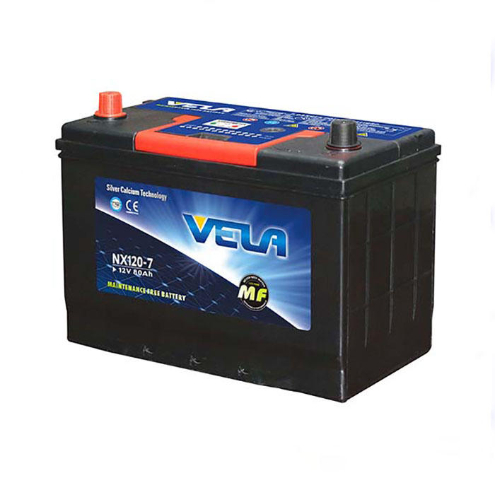 NX120-7 12V80AH MF Rechargeable Car Battery