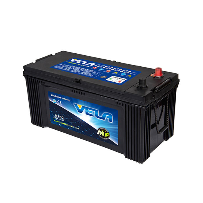 N150 12V150AH MF Car Battery High Quality