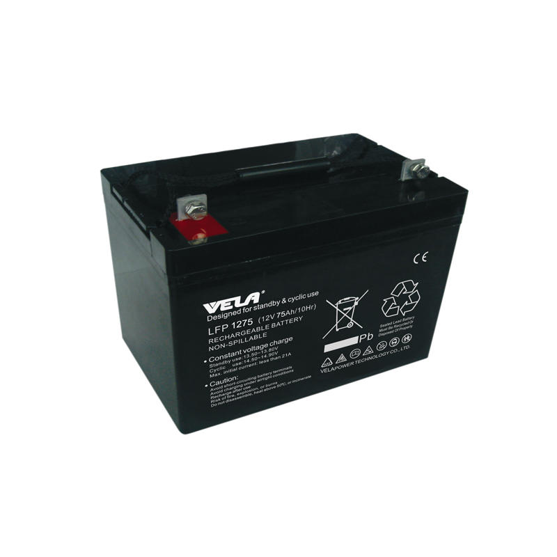 LFP1275 12V 75Ah Non Spillable Lead Acid Battery