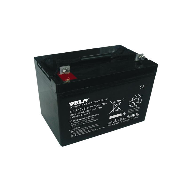 LFP1275 12V 75Ah Non Spillable Lead Acid Battery