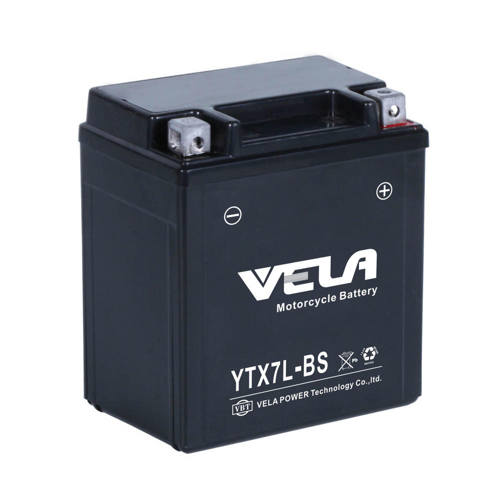 YTX7L 12v7ah wet charged motorcycle battery price