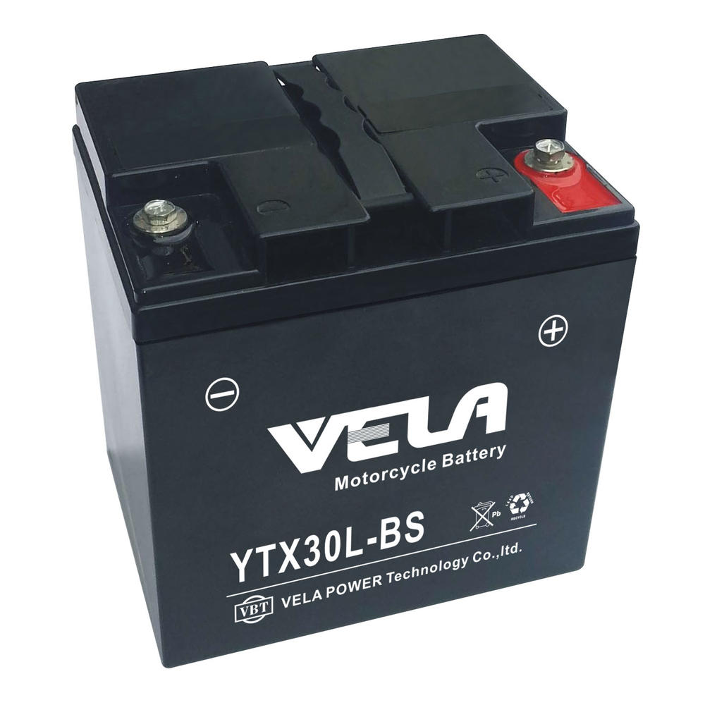 YTX30L 12V28AH wet cell agm battery For Motorcycle ATV Scooter Vehicle