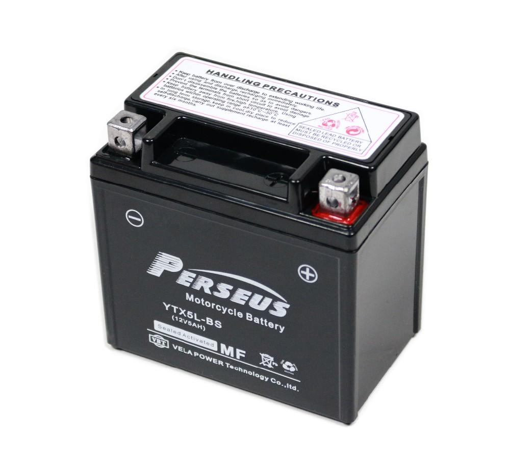 YTX5L 12V4AH powerful starting performance motorcycle battery