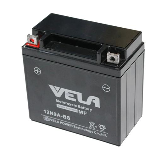 12N9A 12V9AH high performance mf motorcycle battery