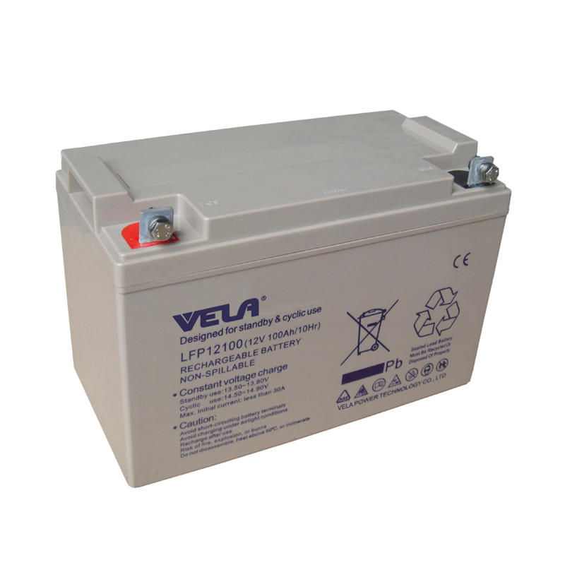 LFP12100 12V 100Ah UPS Battery with VELA Brand