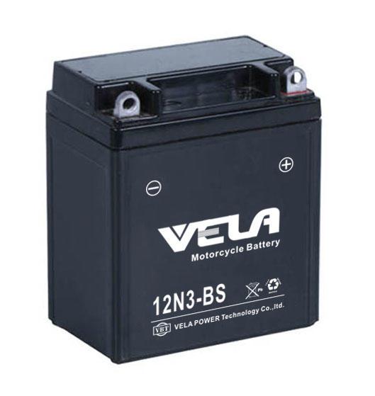 12N3-BS 12V3AH best agm motorcycle battery