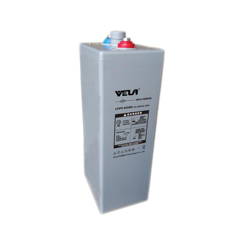 CFPV2500 2V 500Ah OPzV Solar Battery