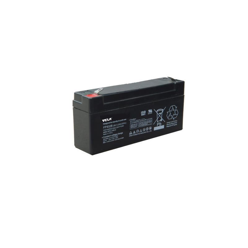 FP632B  lead acid battery backup 6v 3.2ah