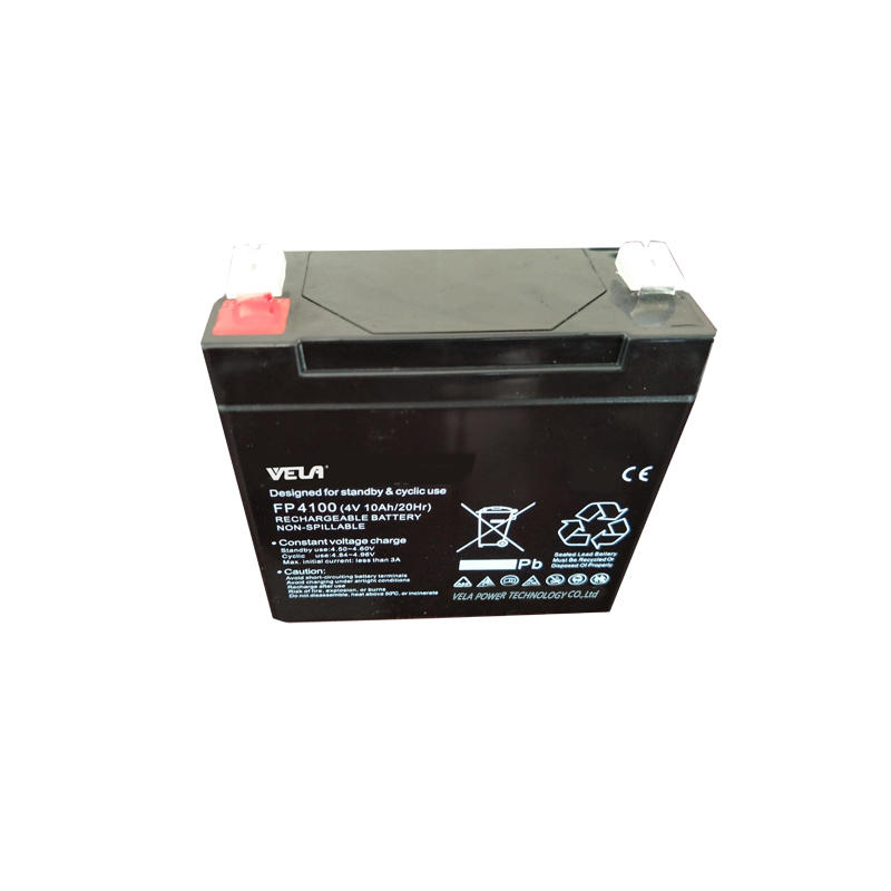 FP4100 4V 10Ah UPS Battery with Lead Acid Battery Maintenance