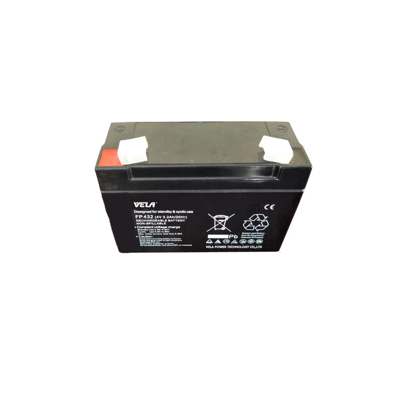 Top Quality FP432 4V 3.2Ah Sealed Rechargeable Battery