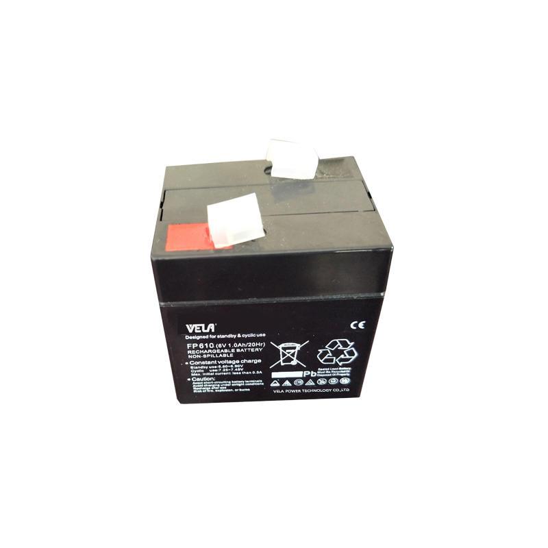 FP610 6V 1Ah Small Ups Battery For Emergency Lighting