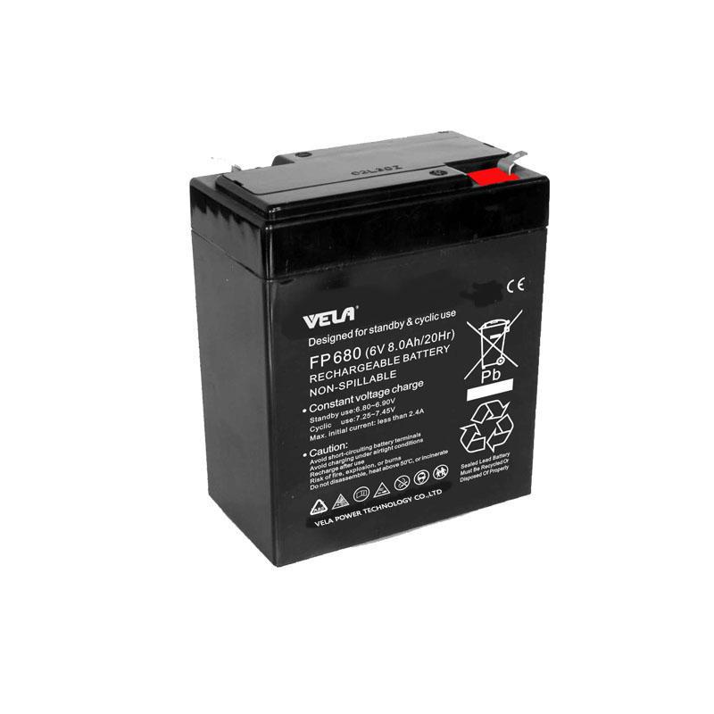 FP680 6V 8Ah 6V UPS Battery With Good Quality