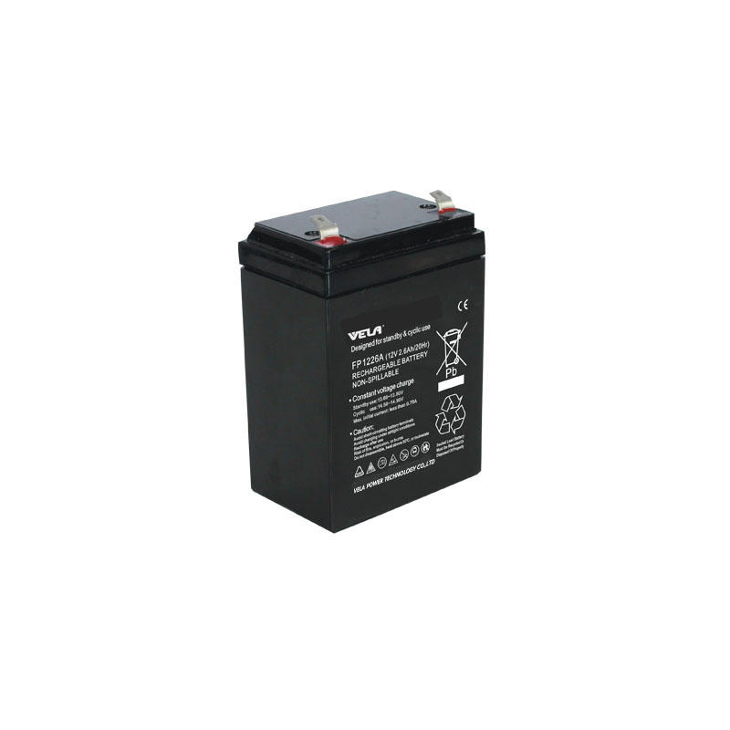 FP1226A 12V 2.6Ah Batttery For Small Ups Battery Backup