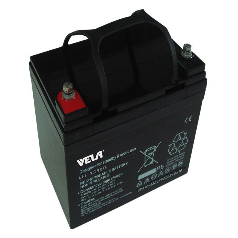 LFP1233G 12V 33Ah 12 Volt Gel Battery