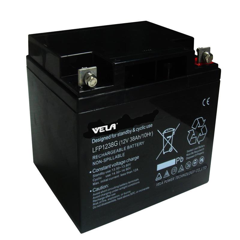 LFP1238G 12V 38Ah Sealed Deep Cycle Battery