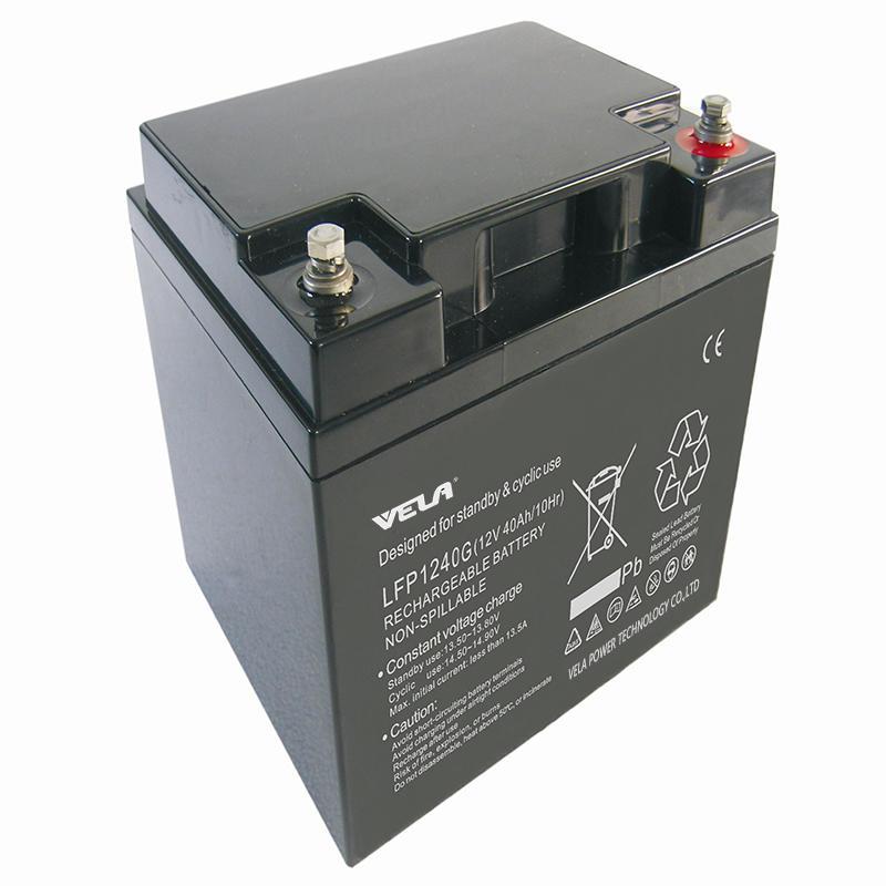 LFP1240G 12V 40Ah Gel Type Battery