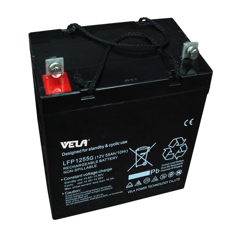 LFP1255G 12V 55Ah Sealed Gel Battery
