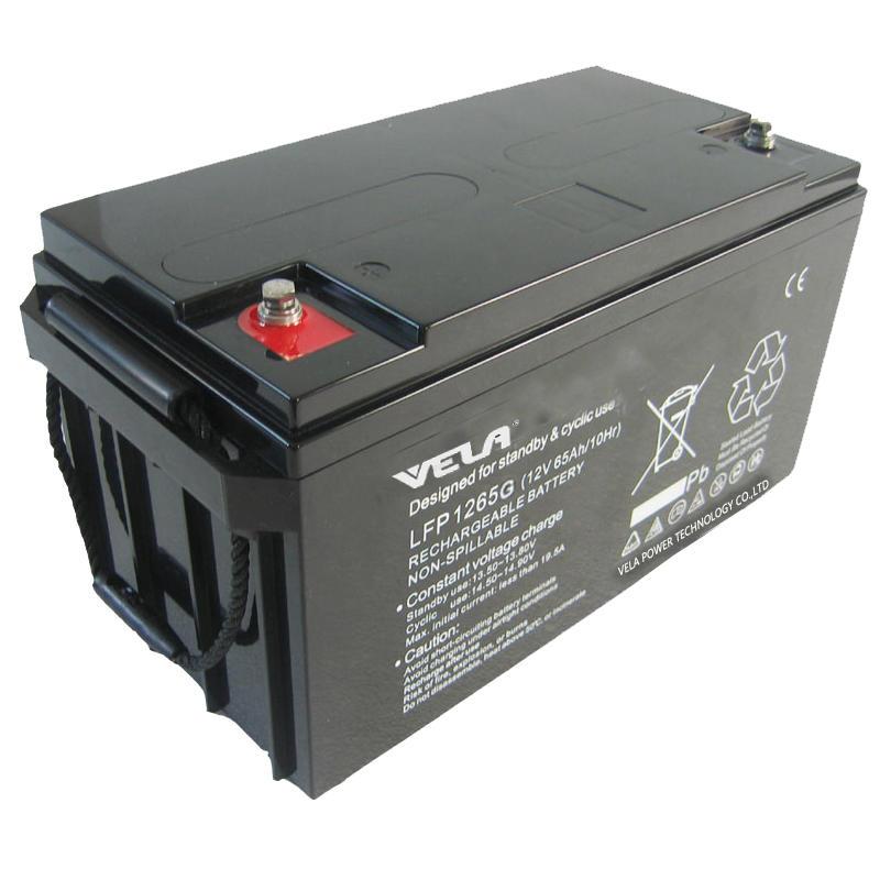 LFP1265G 12V 65Ah Gel Filled Batteries