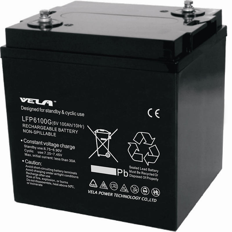 LFP6100G 6V 100Ah 6V Gel Battery
