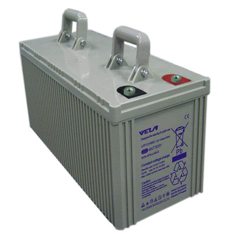 LFP12180G 12V 180Ah Deep Cycle Battery Gel