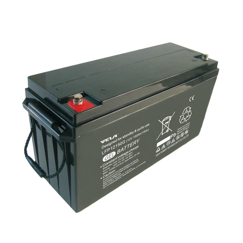 LFP12150G 12V 150Ah Solar Pure Gel Battery