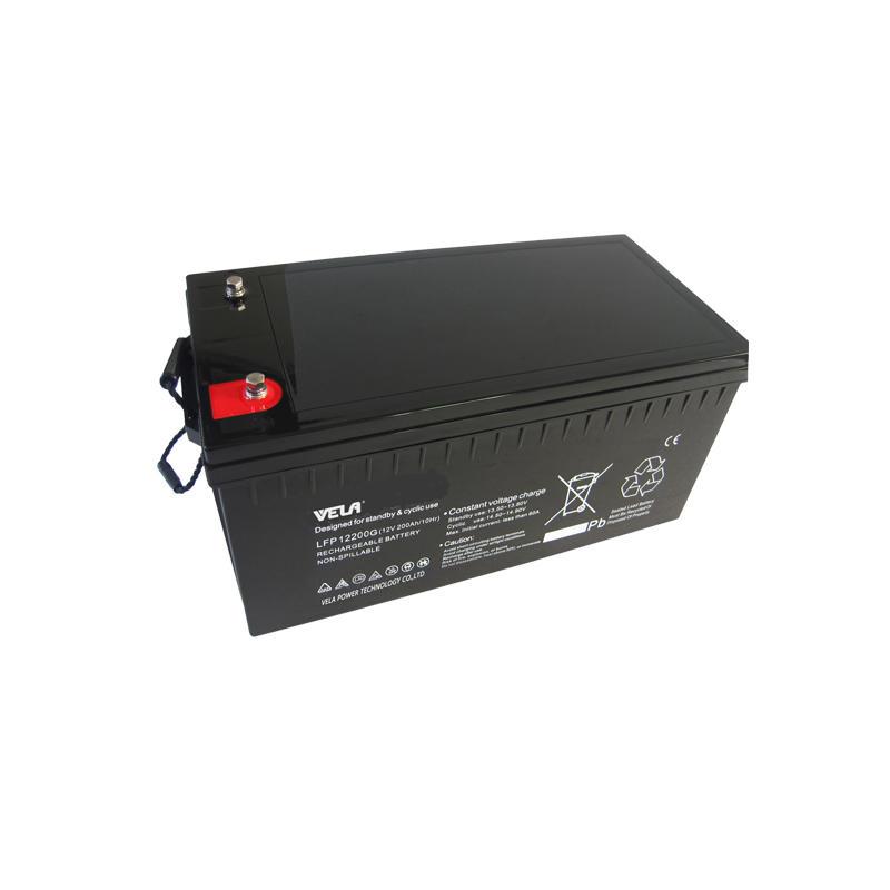 LFPG12200 12V 200Ah Gel VRLA Battery