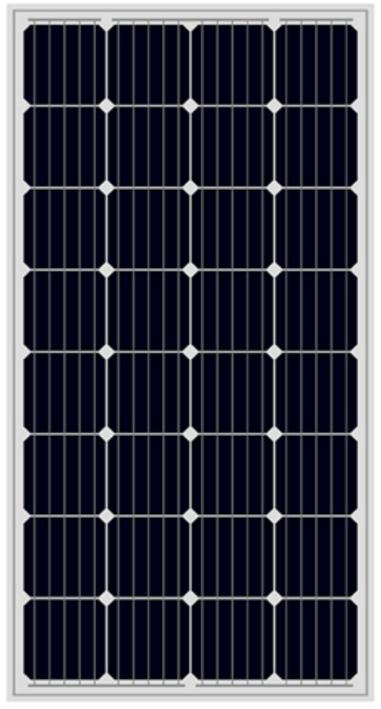 MONO SOLAR MODULE 156' 150-170W