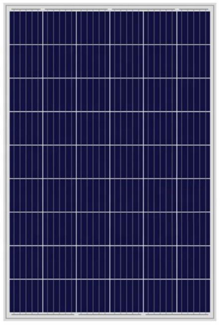 POLY SOLAR MODULE 156' 240-260W